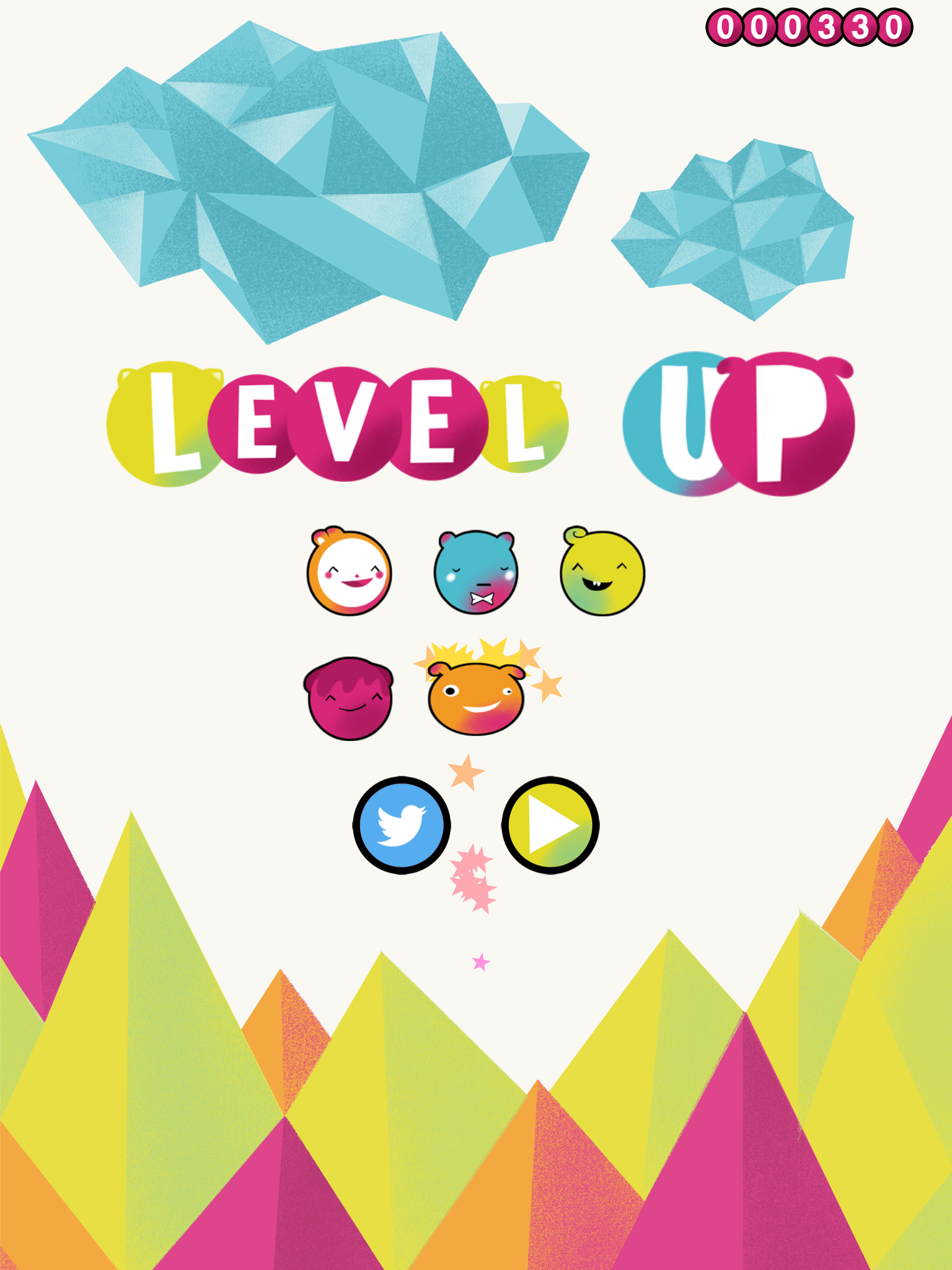Oggipital Level Up screenshot
